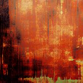 Grunge, vintage old background. With different color patterns: yellow (beige); brown; red (orange); black
