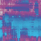 Grunge texture, distressed background. With different color patterns: purple (violet); pink; blue; cyan
