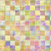 Background with grunge stains. With different color patterns: purple (violet); yellow (beige); pink; blue; green