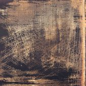 Old abstract texture with grunge stains. With different color patterns: yellow (beige); brown; gray; black