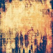 Old grunge textured background. With different color patterns: purple (violet); yellow (beige); brown; blue