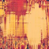 Grunge texture, distressed background. With different color patterns: yellow (beige); brown; pink; red (orange)
