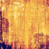 Dirty and weathered old textured background. With different color patterns: purple (violet); yellow (beige); brown