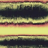 Old-style background, aging texture. With different color patterns: yellow (beige); pink; black