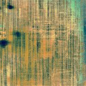 Old and weathered grunge texture. With different color patterns: yellow (beige); brown; gray; blue; cyan