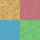 Set of 4 vector seamless tiling patterns