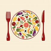Healthy Food , Restaurant Icons