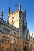 CAMBRIDGE, UK - JANUARY 18, 2015: Pembroke house, part of Cambridge university