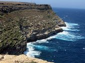 Landscape Of The Island Of Lampedusa In Italy