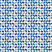 Texture, Abstract Seamless Repeating Pattern Of Simple Shapes