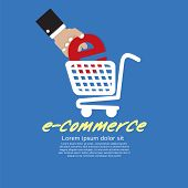 E-Commerce Concept.