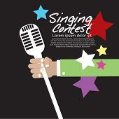 Singing Contest Conceptual.