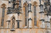 The Historical Monastery Of Batalha In Portugal