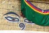 Buddha eyes on Swayambhunath