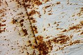 abstract background with a rusty iron