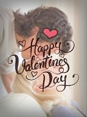 Digitally generated Valentines day vector