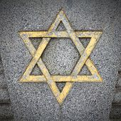 stock photo of hebrew  - Star of David  - JPG