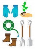 Set Gardening Color Tools