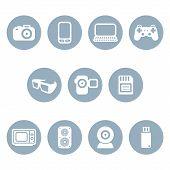 Photo & video icons