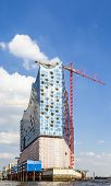 Concert Hall Elbphilharmonie Under Construction