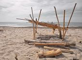 spiaggia capanna riotorto