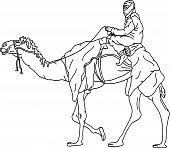 Beduin Camel.eps