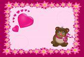 Cute Pink Card