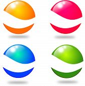 Four Colored Balls