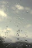 Abstract Background, Rainy Day