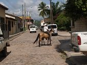 Copan Ruins town