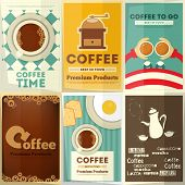 ������, ������: Coffee Posters Set