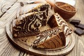 Cake With Cocoa  Powder