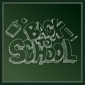 An image of a back to school message.