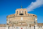 Saint Angel Castle In Rome