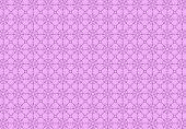 Contour Pattern On A Purple Background