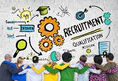 Diversity People Friendship Teamwork Recruitment Concept
