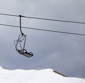 picture of lifting-off  - Chair lift and off - JPG