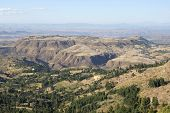 pic of ethiopia  - Landscape in Amhara province close to Lalibela, Ethiopia, Africa
