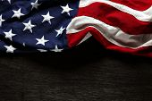 picture of usa flag  - American flag for Memorial Day or 4th of July - JPG