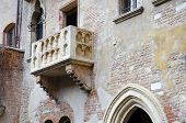 picture of juliet  - Romeo and Juliet balcony in Verona Italy - JPG