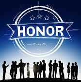 picture of integrity  - Honor Integrity Success Victory Achievement Concept - JPG