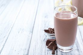 pic of cold drink  - Cold Chocolate Milk drink  - JPG