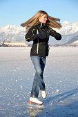 Woman Figure Skating