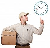 Delivery Man And Time