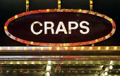 pic of keno  - Neon craps sign - JPG