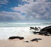 Australian Beach During The Day