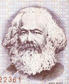 Постер, плакат: Karl Marx Vintage