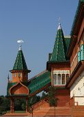 Towers Of The Palace Of Tsar Alexei Mikhailovich