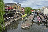 LONDON, UNITED KINGDOM - MAY 8: Camden Lock on May 8, 2011 in London, United Kingdom. Camden Lock, o