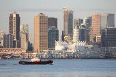 Tugboat, Vancouver Skyline horizontal